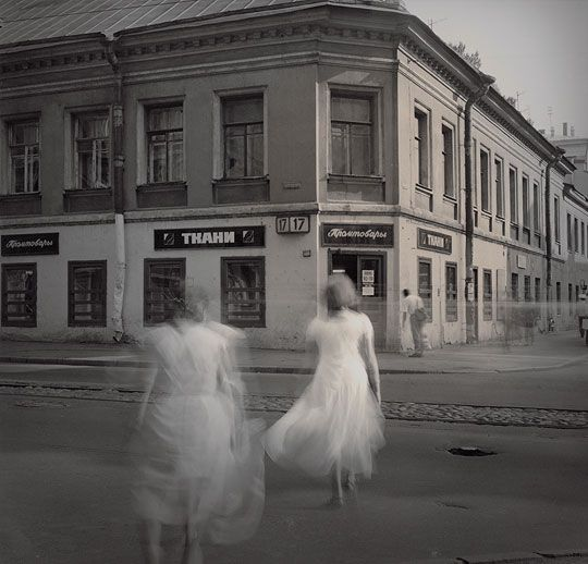 """White Dresses"" from the photo series ""Time Standing Still"" 