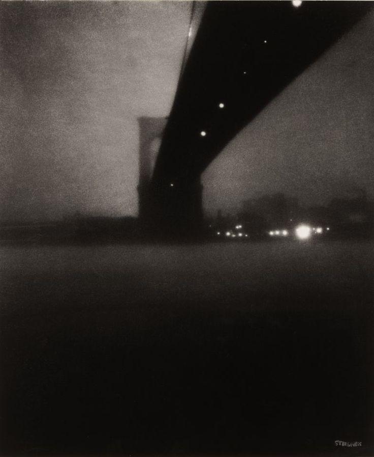 Brooklyn Bridge, 1903 (Edward Steichen)