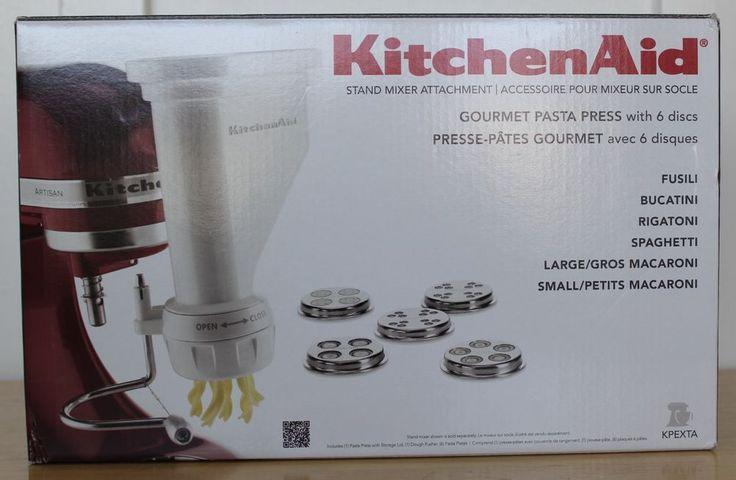 Kitchenaid kpexta standmixer pastaextruder attachment