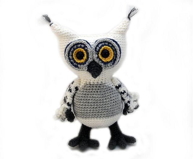 Mejores 394 imágenes de Crochet / knit owls en Pinterest | Búho de ...