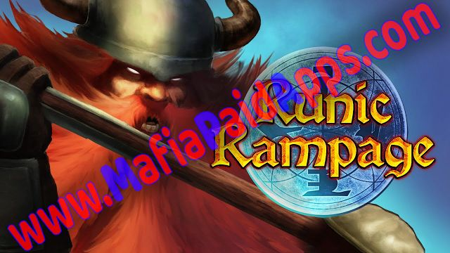 Runic Rampage  Hack and Slash RPG 1.06 Apk Mod (Golds/Keys/Runes/Skill Points) for android    Runic Rampage - Hack and Slash RPG APK  Runic Rampage - Hack and Slash RPG Mod is a Role Playing game for android  Download last version of Runic Rampage - Hack and Slash RPG Mod Apk for android from MafiaPaidApps with direct link  Sharpen your axe and equip your hammer - Runic Rampage is the brutal action adventure every dwarf has been waiting for. Master fatal combos and unleash powerful spells to…