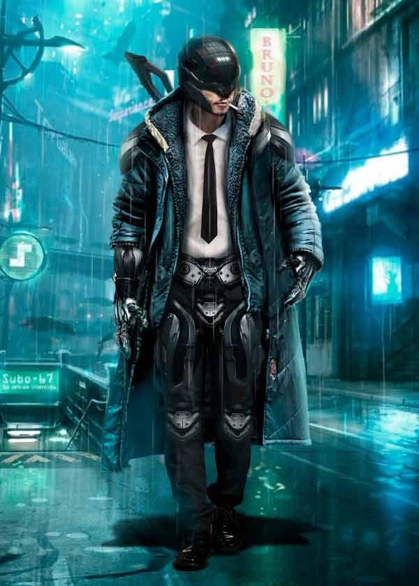 Cyberpunk Mercenary By Elvira Akchurina