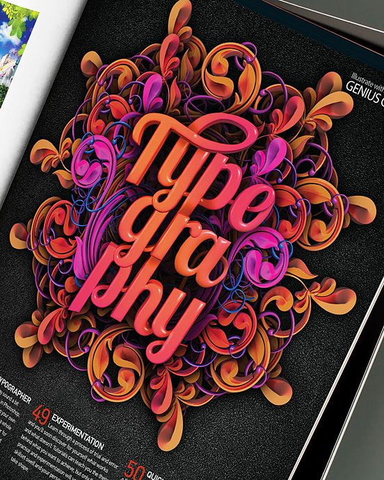 TypeGraphy Font inspiration, Beautiful typography