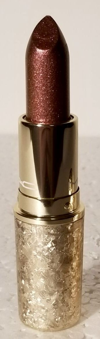 Sooo Pretty! NEW MAC Frost Lipstick in Shimmer & Spice. From the Holiday Snowball Collection