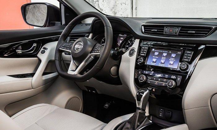 2018 Nissan Rogue Interior Design