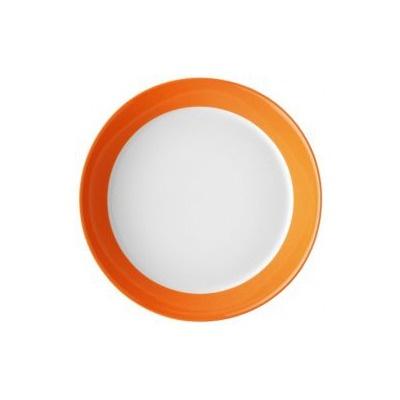 Arzberg Tric Flat Soup / Pasta Plate in Fresh Bright Orange