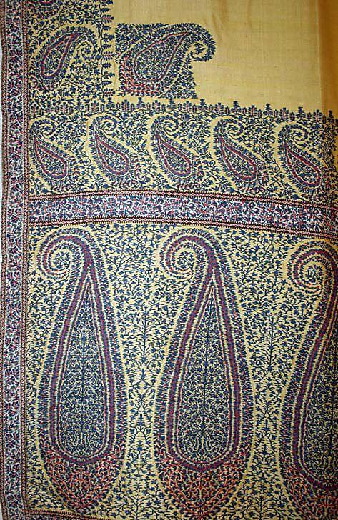 Shawl Date: 19th century Culture: French Medium: silk, wool