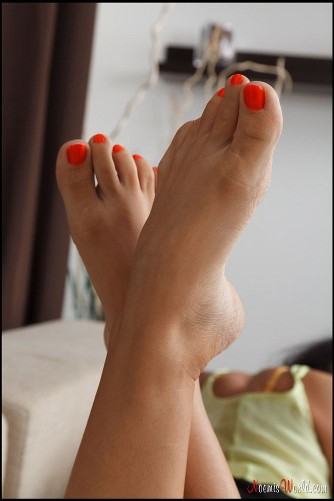 foot pink sexy