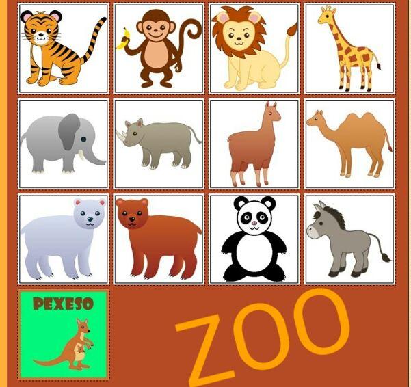 Zoo http://www.pexeso.net/zoo/02BED