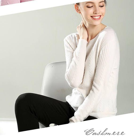 autumn and winter new women sweater round neck collar blouse