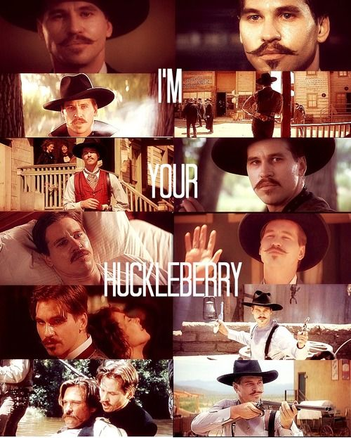 Doc Holliday Quotes From The Movie Tombstone: Val Kilmer Aka Doc Holliday In Tombstone