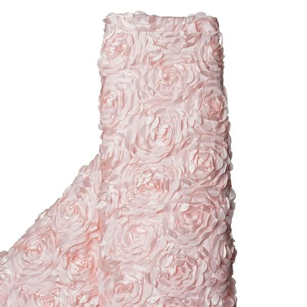"""Rosette Satin Fabric BLUSH PINK 54/"""" Wide Sold by the yard"""