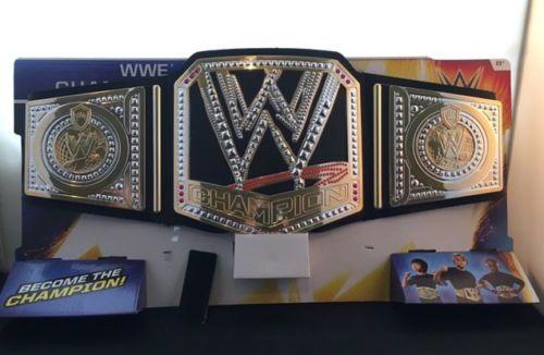 Official-Mattel-WWE-World-Championship-Belt-Kids-Dress-Up-Costume-Toy