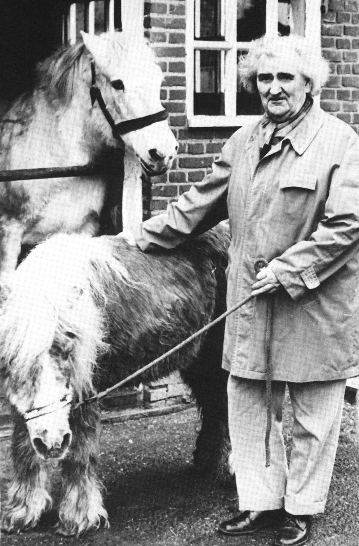 Oprichter van De Paardenkamp, meneer 't Hart