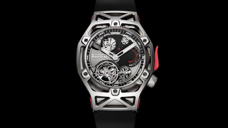 Hublot's latest Ferrari watch is a deeper cross-pollination of automotive and horological design