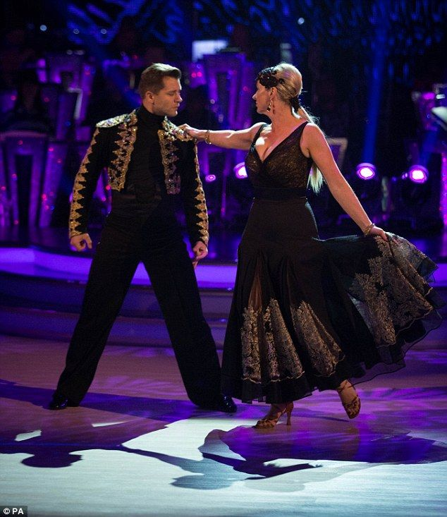 Glamorous: Carol Kirkwood and her dance partner Pasha Kovalev tried their very best for th...