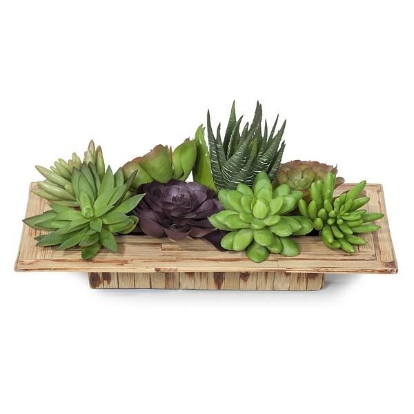 Plantas artificiales crasas o suculentas http www for Plantas ornamentales artificiales