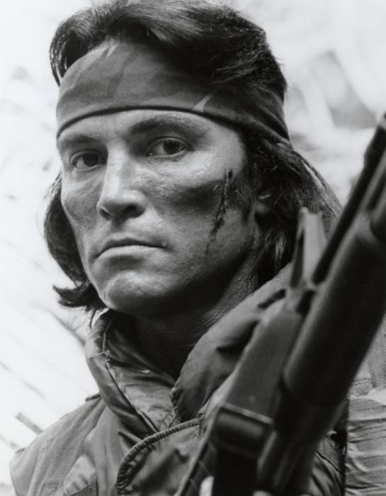 "Sonny Landham, "" Predator 1987"" (descendant of the Cherokee and Seminole Nations)"