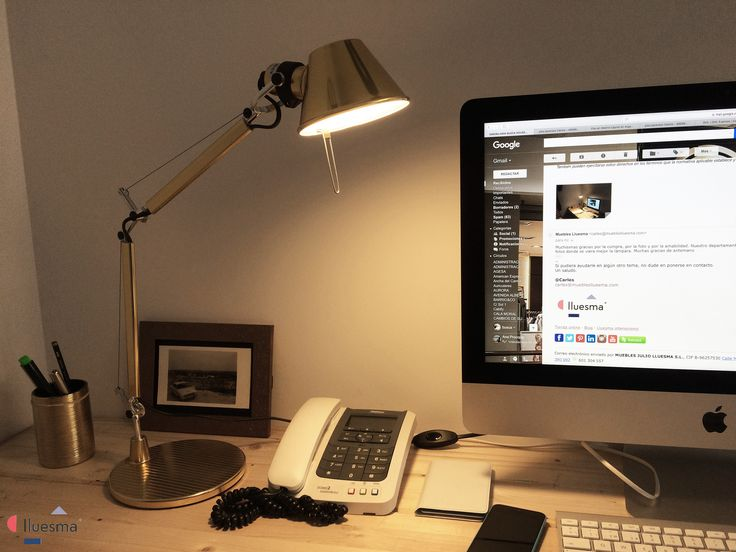 ¡Gracias Guillermo por participar en nuestro #concurso con esta imagen de la #lámpara Tolomeo Micro Gold Led de Artemide! Si tú también quieres participar, envíanos las fotos de tus productos #Lluesma ¡y podrás ganar un #reloj de pared Sunset de Nomon! Envía las fotos de tus #muebles, lámparas o complementos adquiridos en Lluesma a: ventas@muebleslluesma.com.