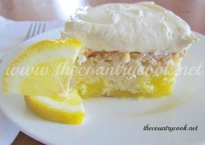 Lemon Dream Vanilla Cake