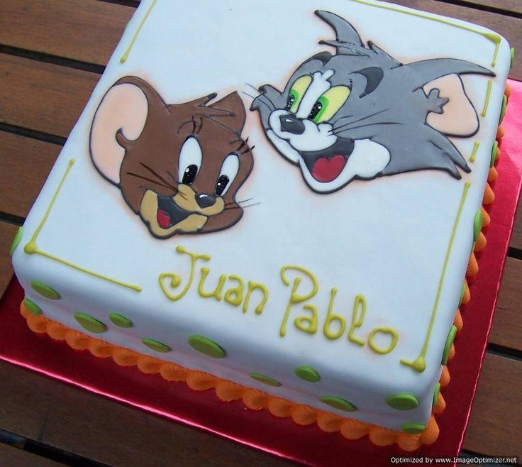 Tom And Jerry Cake On Pinterest | Fondant Cake