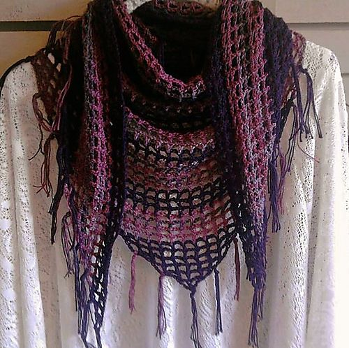 Ravelry: Sweet November Scarf/Shawl pattern by April Draven