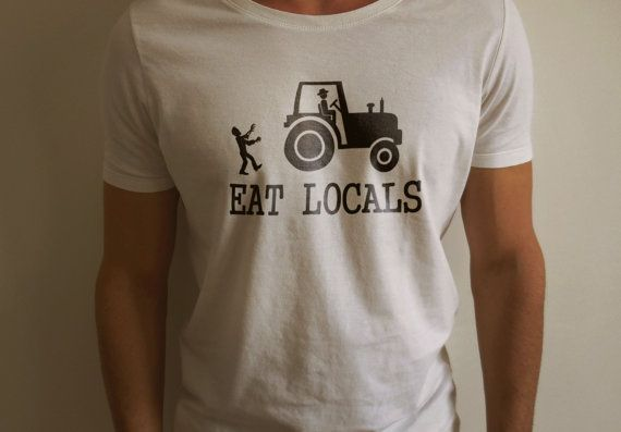 Eat Locals Zombies Shirt by BuggyLife on Etsy