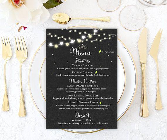 Best 25+ Wedding menu chalkboard ideas on Pinterest Menu - wedding menu