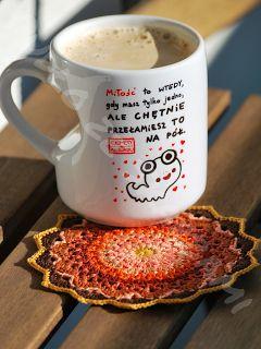 Pudło ze Skarbami - rękodzieło szydełkowe : Jesień witamy w jej kolorach