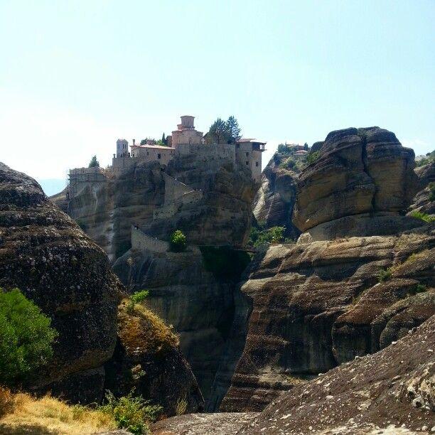 The breathtaking monasteries of Meteora - greece