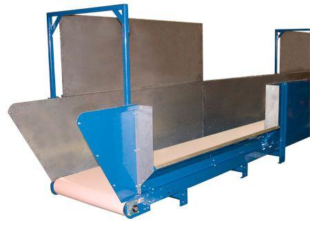 Roach Laundry Receiving 450BOS Conveyor