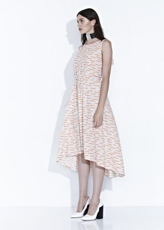 SHADOW DRESS - Coral Print - $270.00 : Green Horse, Lifestyle with a conscience