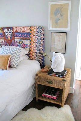 Bromeliad: DIY Scarf Headboard Makeover   Fashion And Home Decor DIY And  Inspiration · Tribal BedroomDiy ...