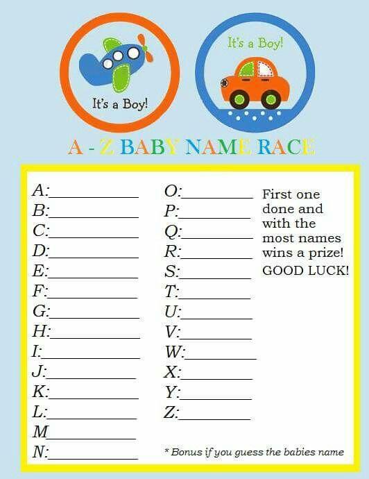 Baby name race!