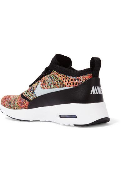 Nike - Air Max Thea Flyknit Sneakers - Green - US9