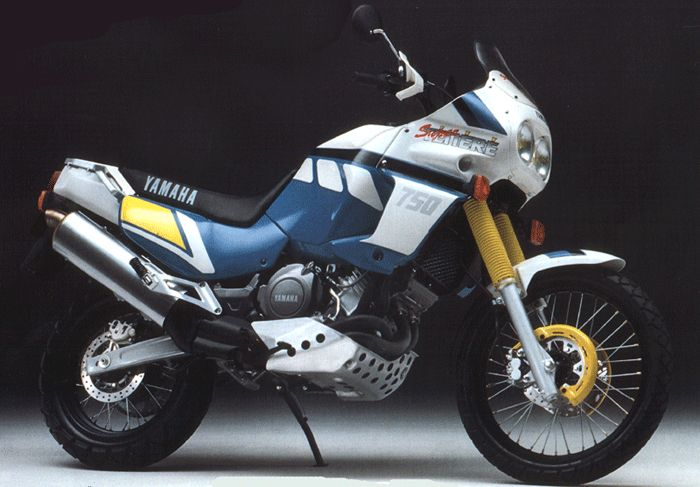 1986-89 Yamaha  XTZ 750 Super Tenere