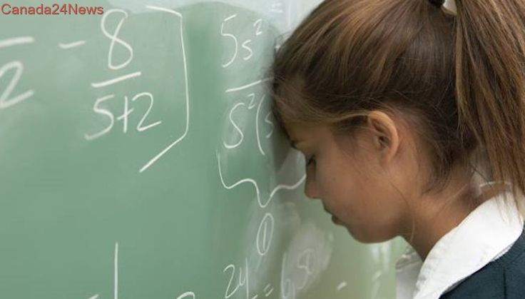 Confidence in math has become a major problem for girls in school