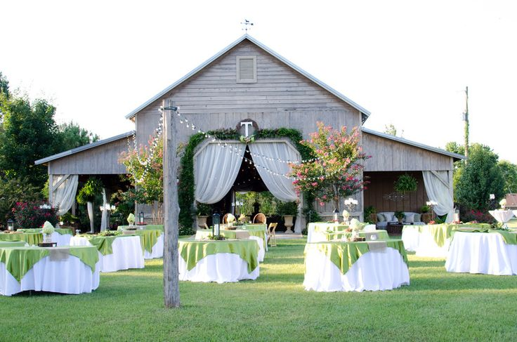 Outdoor barn wedding and reception venue in North Alabama., Flint Creek Whitetails Farm Hartselle, AL Photo Gallery