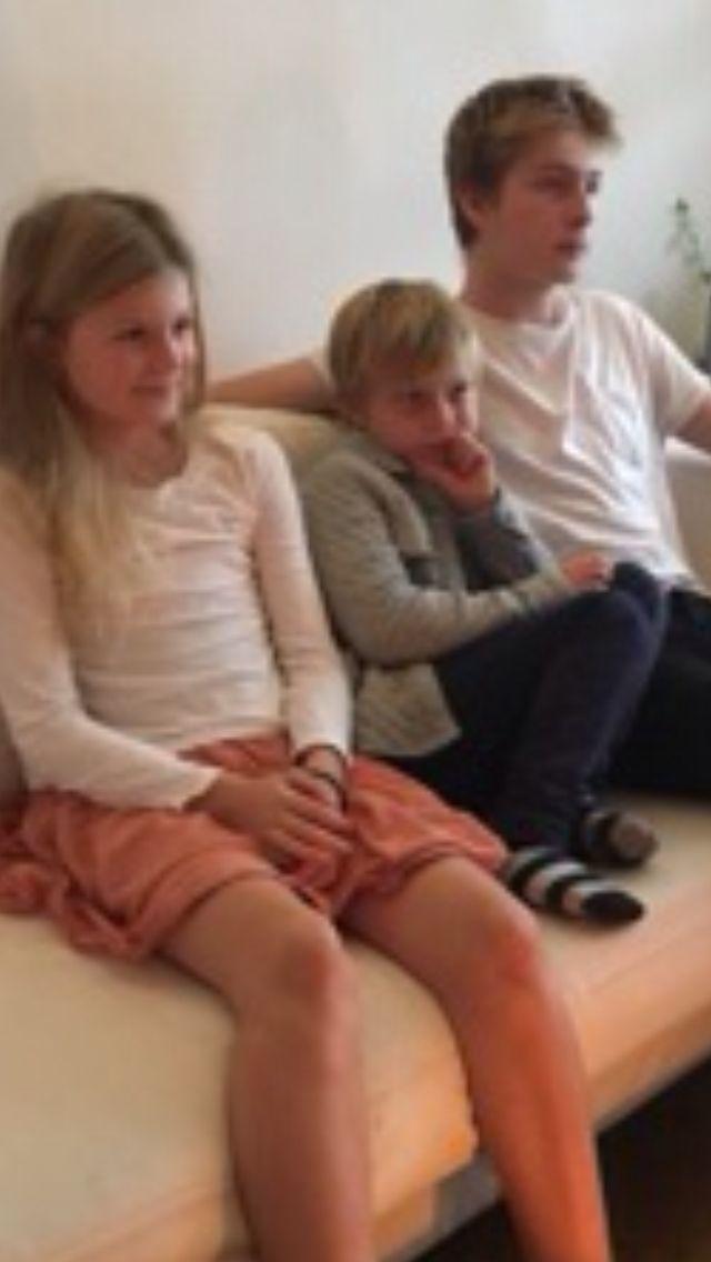 Tine brask + børnene