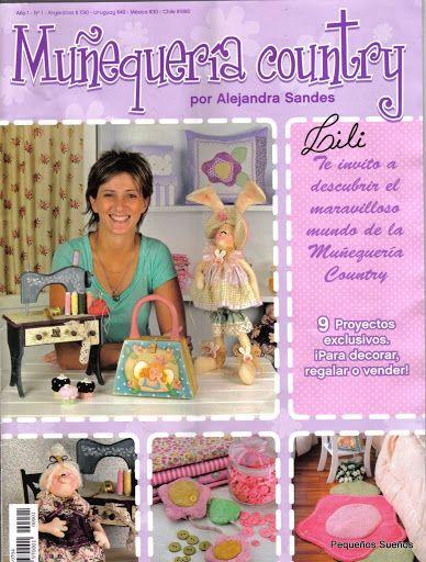 Muñequeria Country 1 #revistas #manualidades
