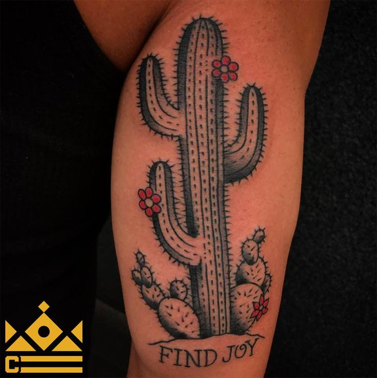 Traditional cactus tattoo by Jon Hanna!  ----------------------------------------------------------------- Certified Tattoo Studios 1559 S. Broadway  Denver, CO 80210  Thinking about your next tattoo? Give us a call at 720-366-6925  or email booking@certifiedcustoms.net  to set up an appointment. #tattoos #ink #tatuaje #art #beauty #style #love #denver