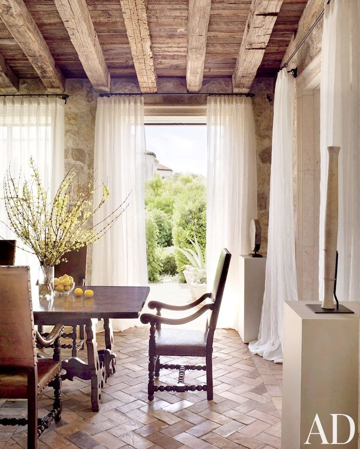 dustjacket attic: Interior Design | Italian Style Villa