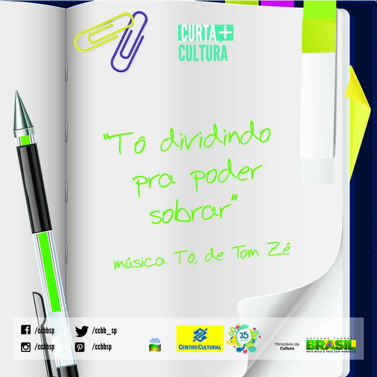 Tom Zé participou da Invasão Baiana (20/4), no Vale do Anhangabaú, em São Paulo, para comemorar o 13º aniversário do CCBB SP.