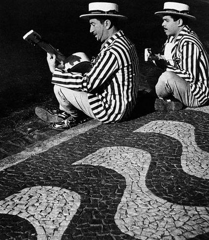Músicos no carnaval carioca Jean Manzon, circa 1940