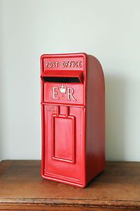 Royal mail wedding post box for sale - white red any colour lockable | eBay