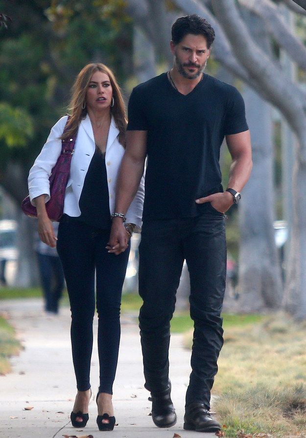 Look, look with your special eyes. | Joe Manganiello And Sofia Vergara Really Are A Couple