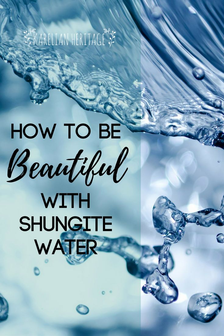 how to make shungite water
