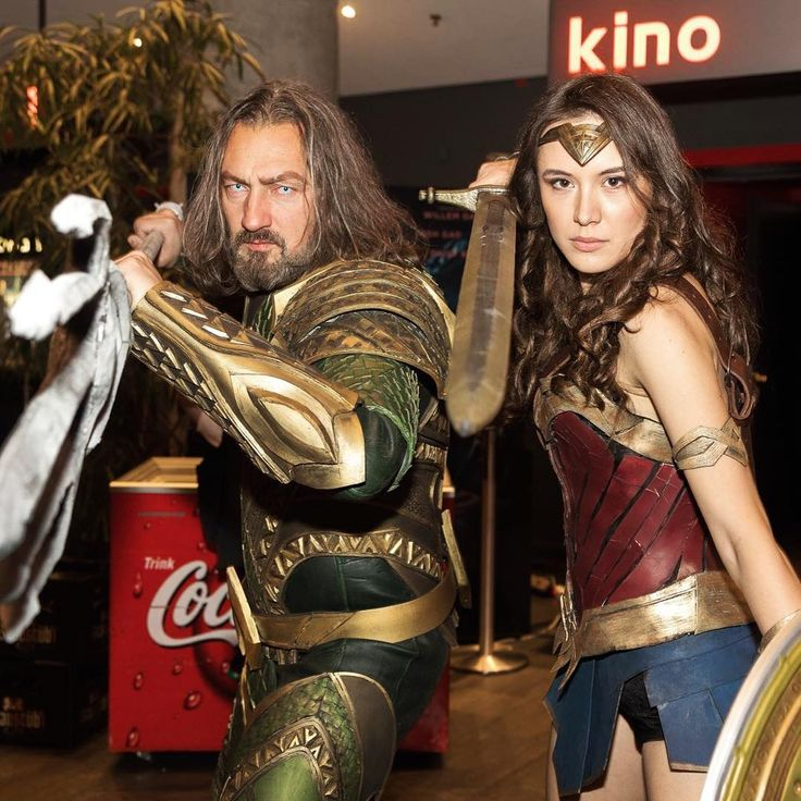 """""""Ready to defend justice! """"A little photo from Wednesday during our Cinema appeareance at @kinopolis_de #darmstadt!  We'll be at the @maintaunuszentrum Kinopolis tonight at 19:15 so visit us there! Aquaman: @cosschmiede photographer: @averageshots #Wonderwoman #aquaman #wonderwomancosplay #aquamancosplay #justiceleague #justiceleaguecosplay #cosplay #cosplayers #dc #dccomics #dccosplayer #dccosplay #dianaofthemyscira #galgadot @cosplay_star_gallery @cosplayculturemag @cosplay.world…"""