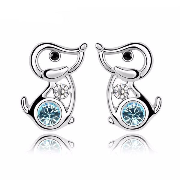 Nickel Free ICYROSE 925 Sterling Silver Oxidized Crystal CZ Bars Stud Earrings for Women or Girls 30816