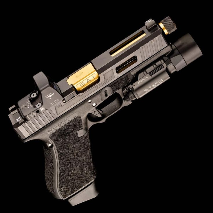 Salient Arms International Tier One for the Glock 17 Pistol with RMR cut/sight, and match-fit/fluted/threaded barrel.